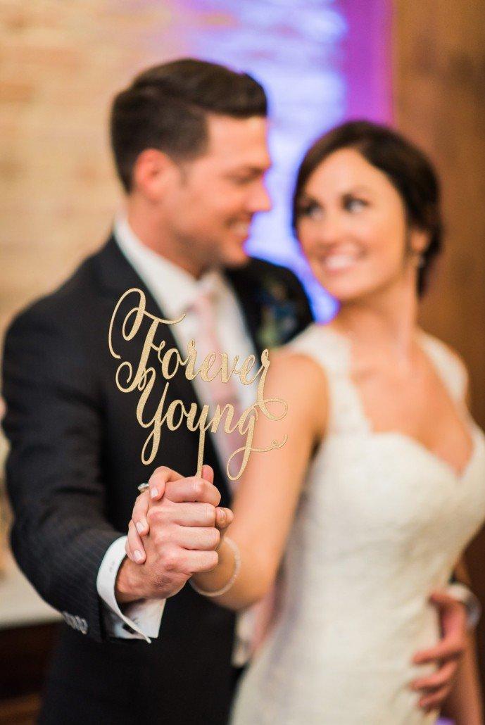 Erin & Adam Wedding Blog Design 101