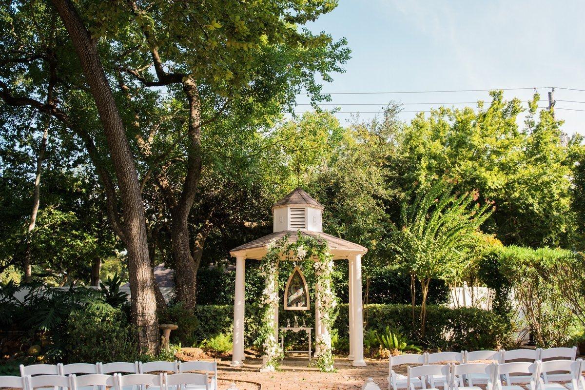 Butler's Courtyard Wedding Ceremony Inspiration