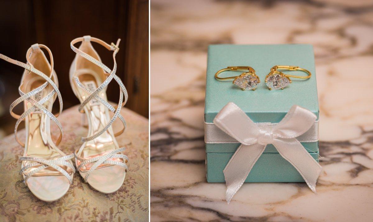 Chic Butlers Courtyard Wedding Details