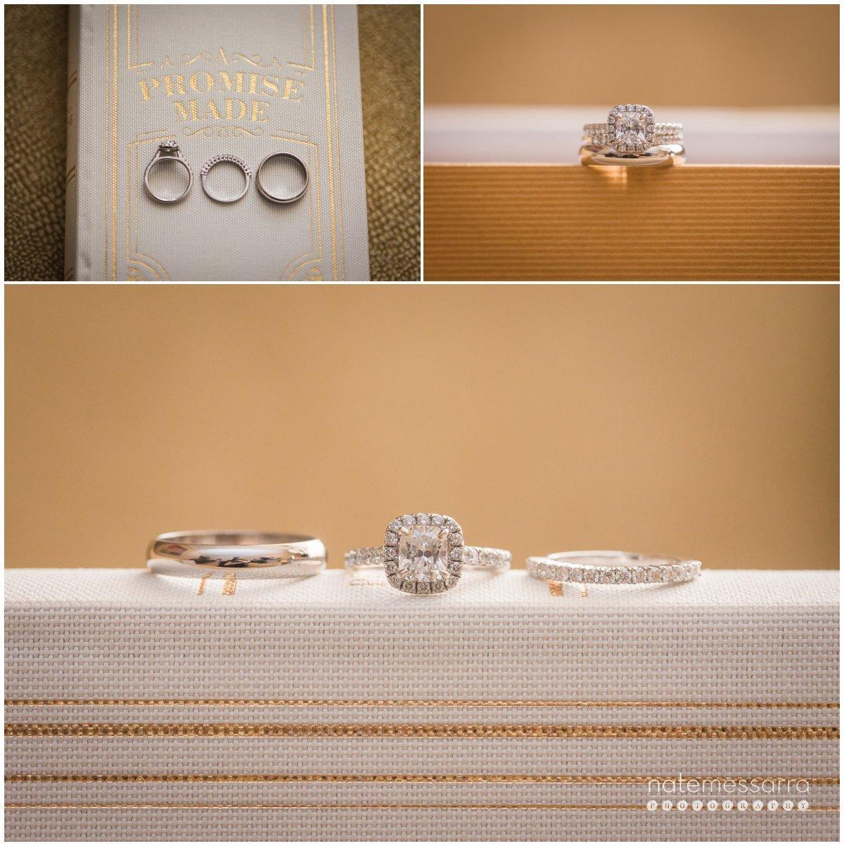 Incredible, Elegant Wedding Rings at St. Regis Houston Wedding