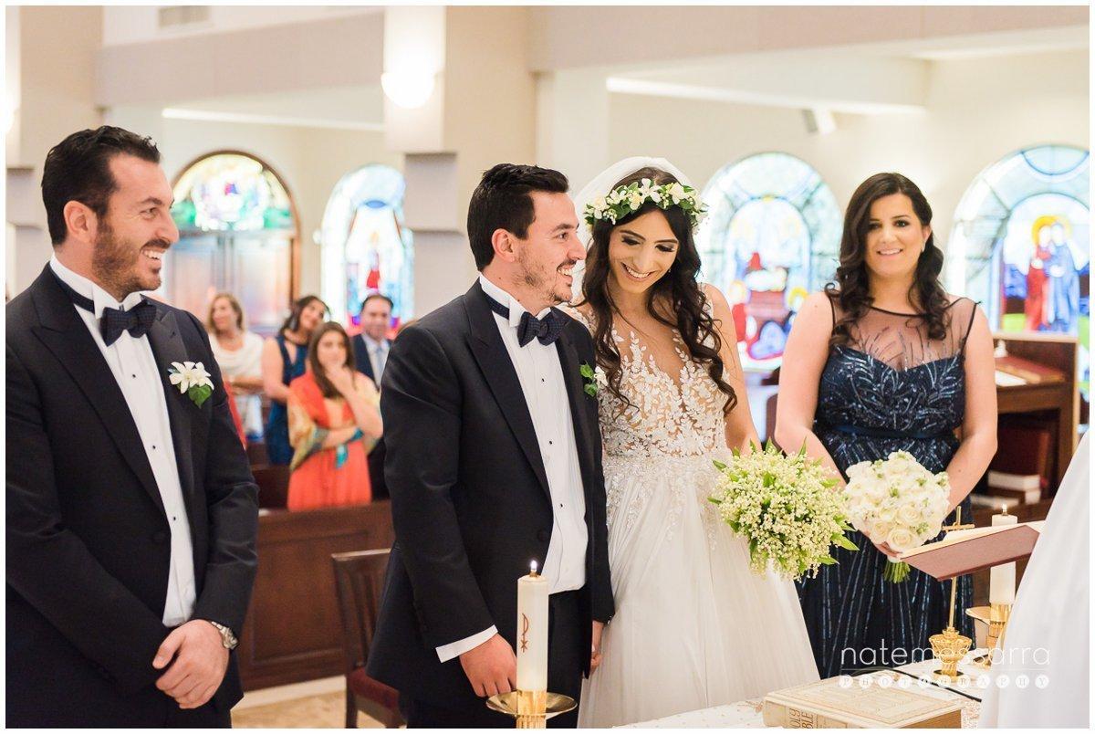 Lebanese Christian Wedding Ceremony Moments St. Regis Houston Wedding