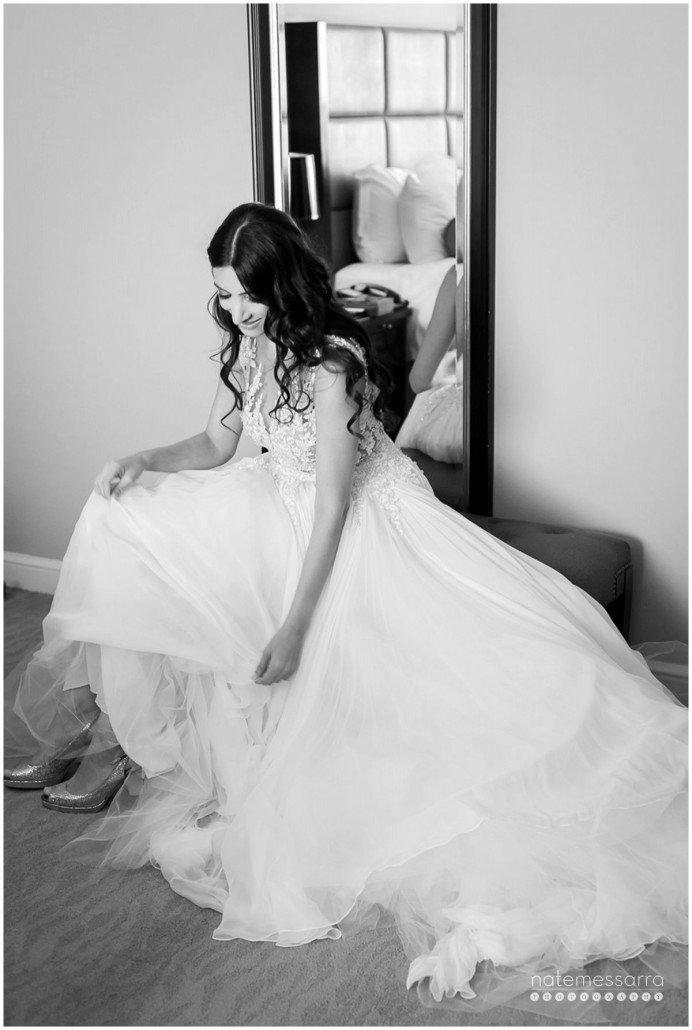 St. Regis Houston Wedding Bride Getting Ready
