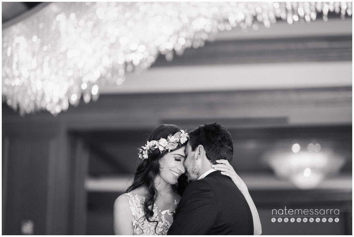 St. Regis Houston Wedding with gorgeous chandelier