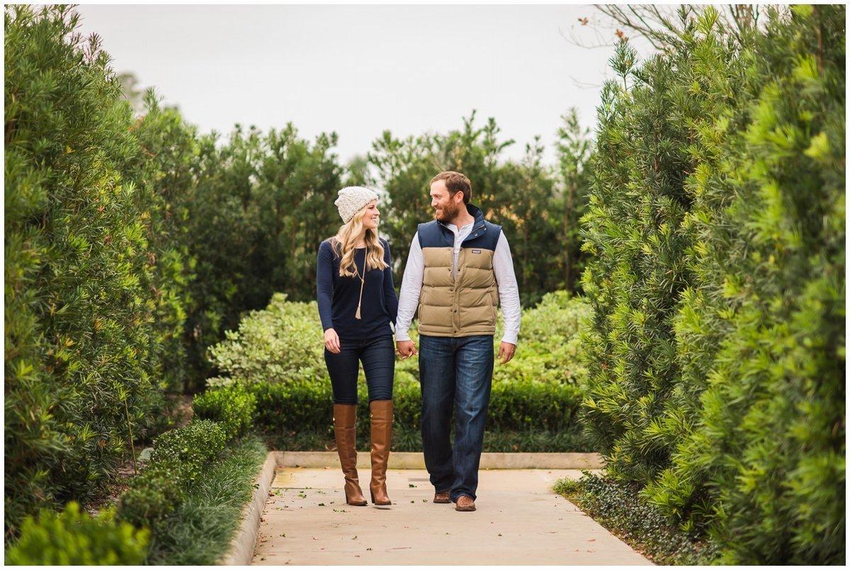 Houston Fall & Winter Engagement Photos