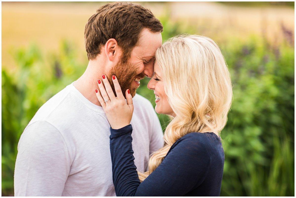Romantic Houston Fall & Winter Engagement Photos