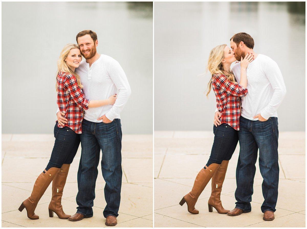 Adorable Houston Fall & Winter Engagement Photos Ideas