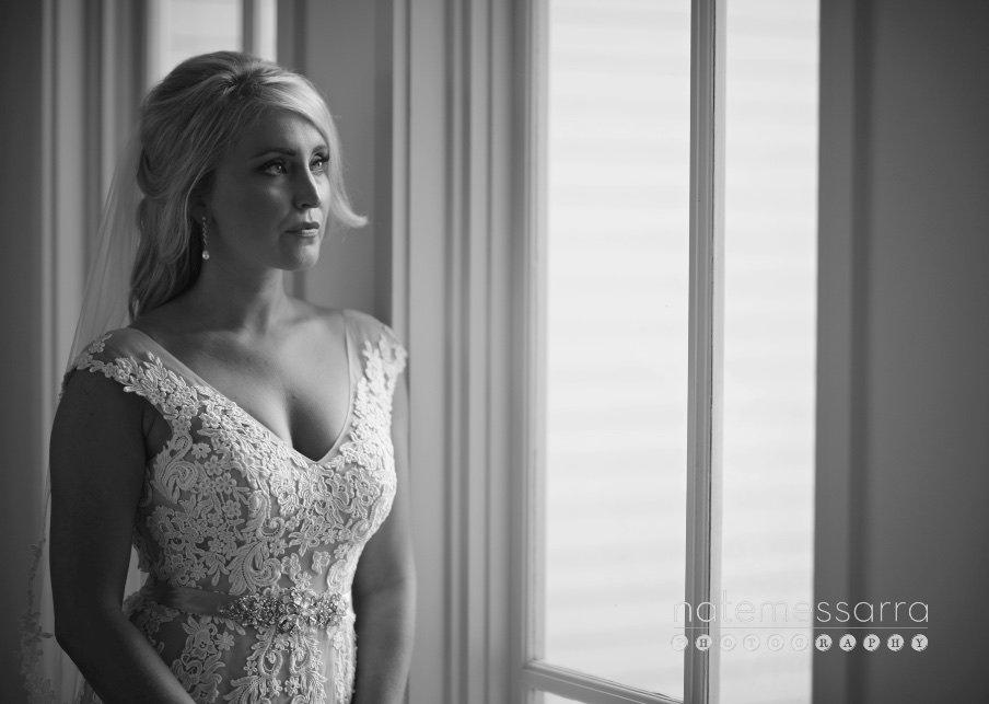 Houston Bridal Portraits in black and white