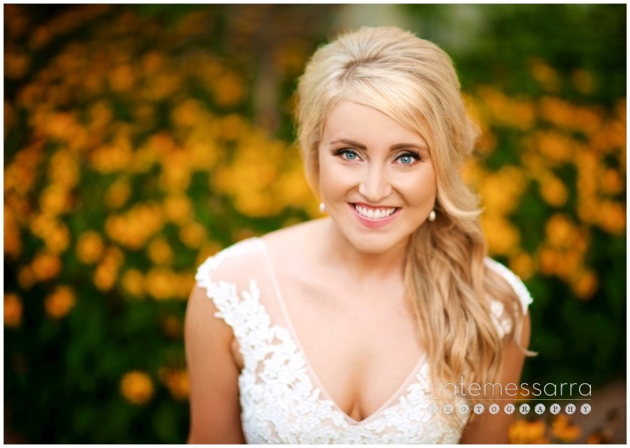 Vibrant, Colorful Houston Bridal Portraits
