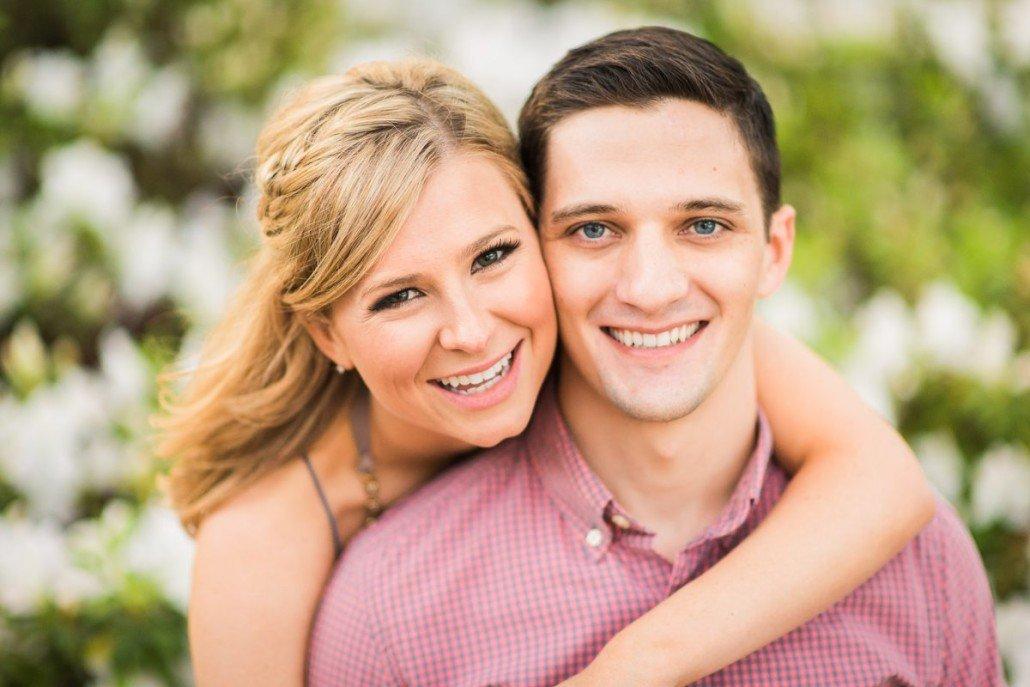 Smiling Houston Engagements