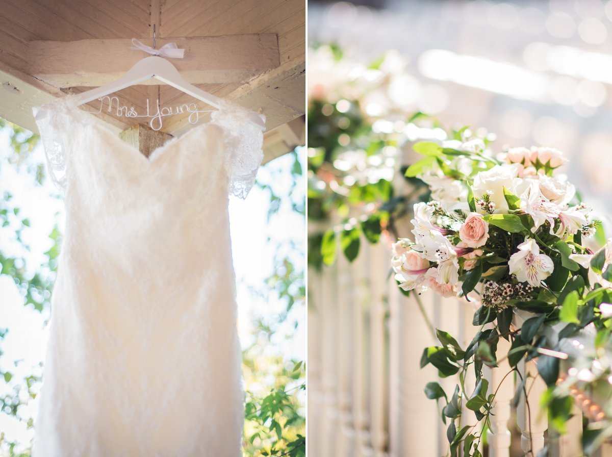 Chic Butlers Courtyard Wedding Dress Details