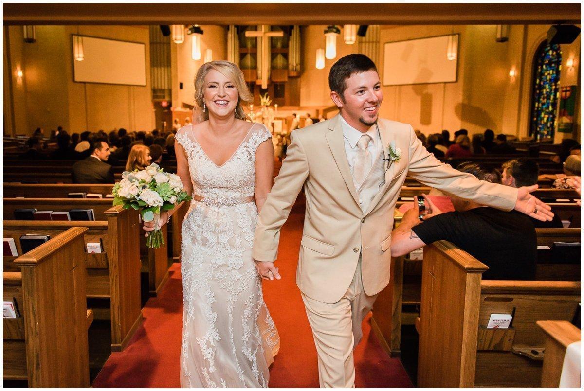 Clear Lake United Methodist Church Wedding Ceremony