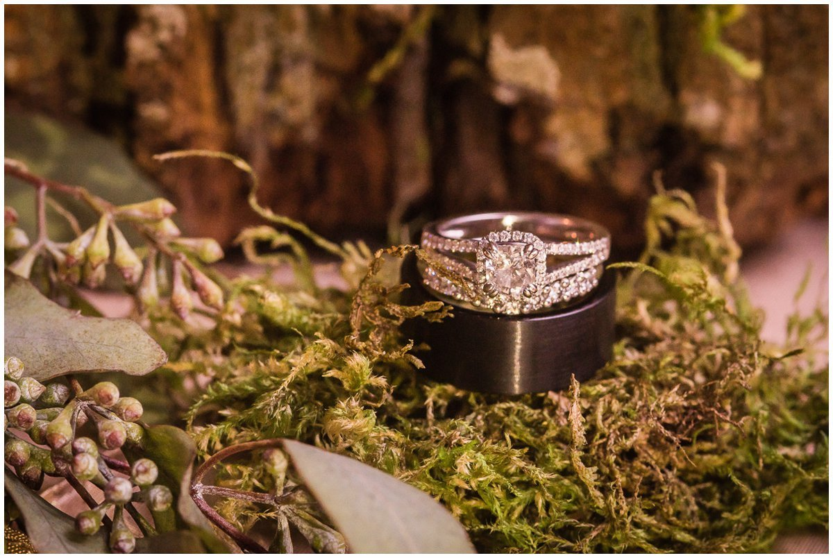 The Admiral on Clear Lake Wedding Reception Wedding Rings