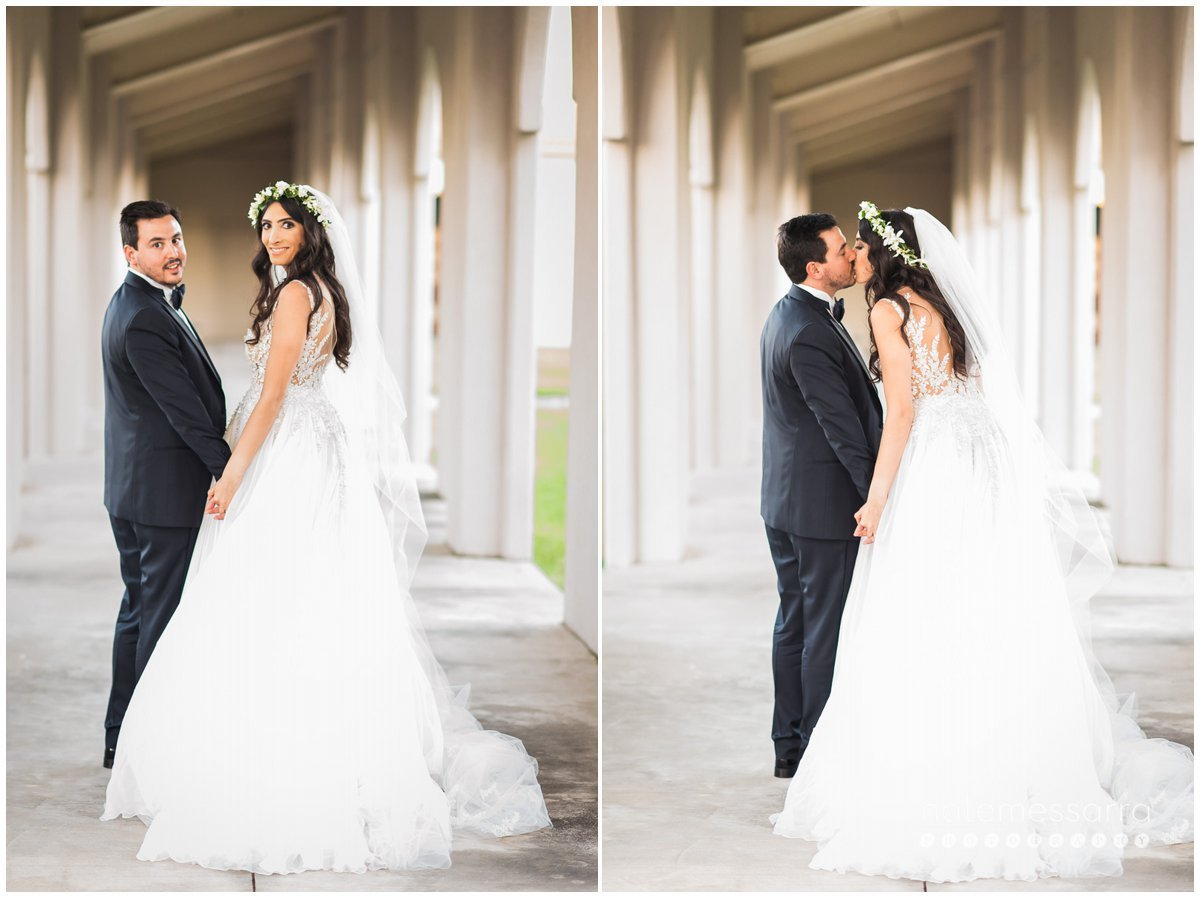 St. Regis Houston Wedding Bride and Groom