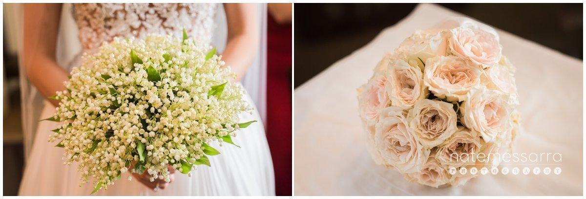 Lily of Valley Wedding Bouquet St. Regis Houston Wedding