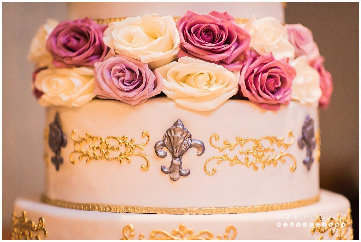 St. Regis Houston Wedding Cake