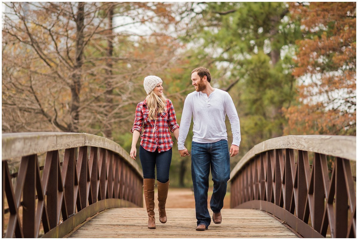 Gorgeous Candid Houston Winter Engagement Photos Ideas