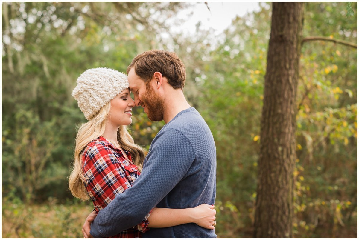 Romantic Houston Winter Engagement Photos Ideas
