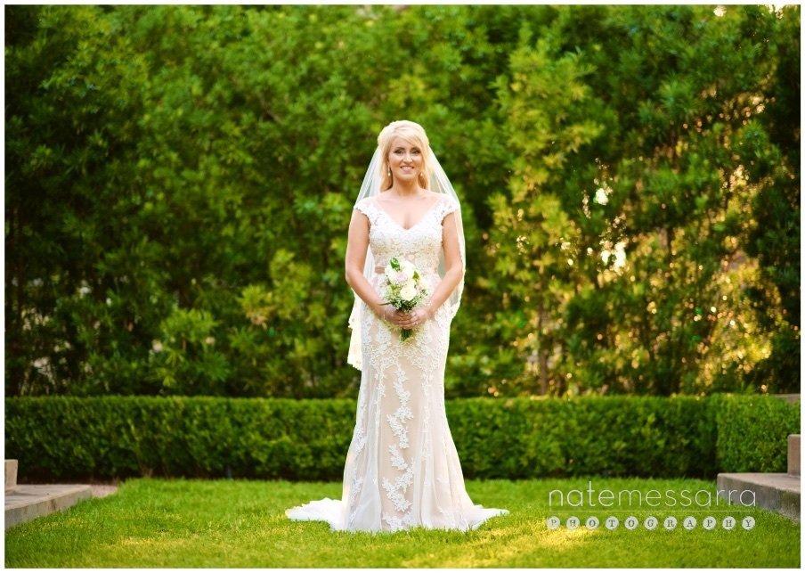 Garden Houston Bridal Portraits