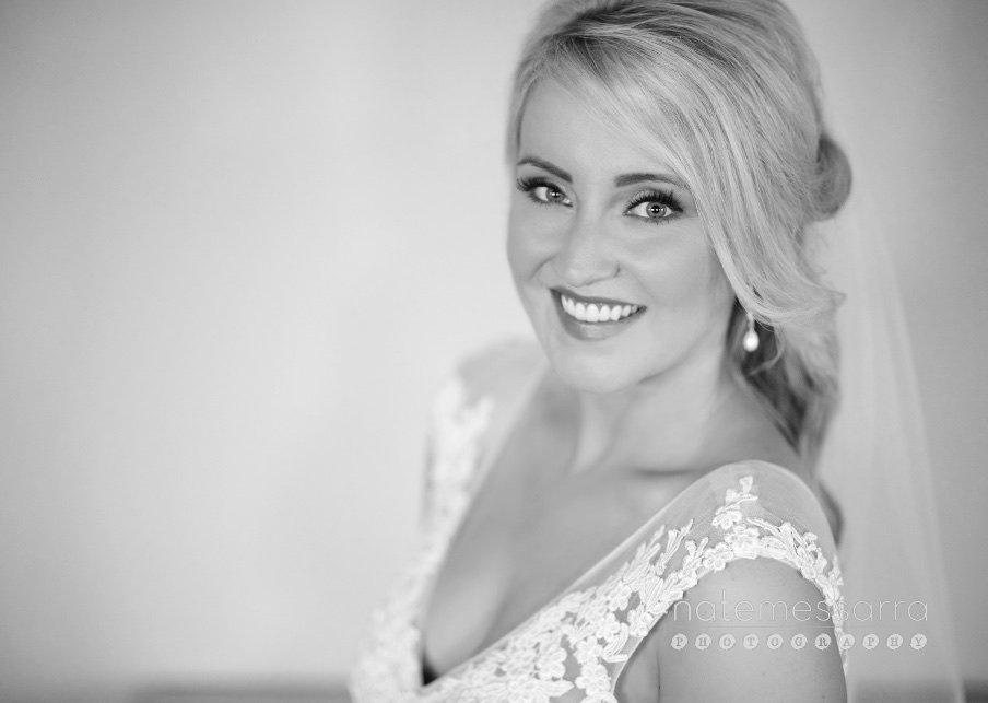 Houston Bridal Portraits in black and white