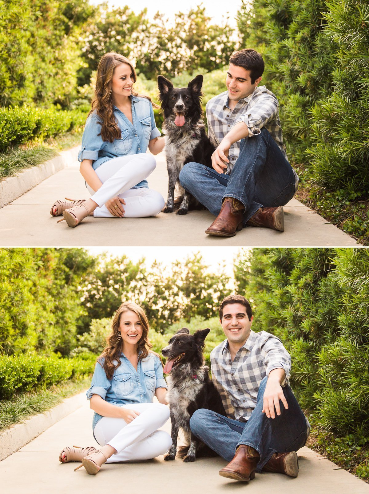 Ricky Sarah Engagement Hermann Park Houston 1