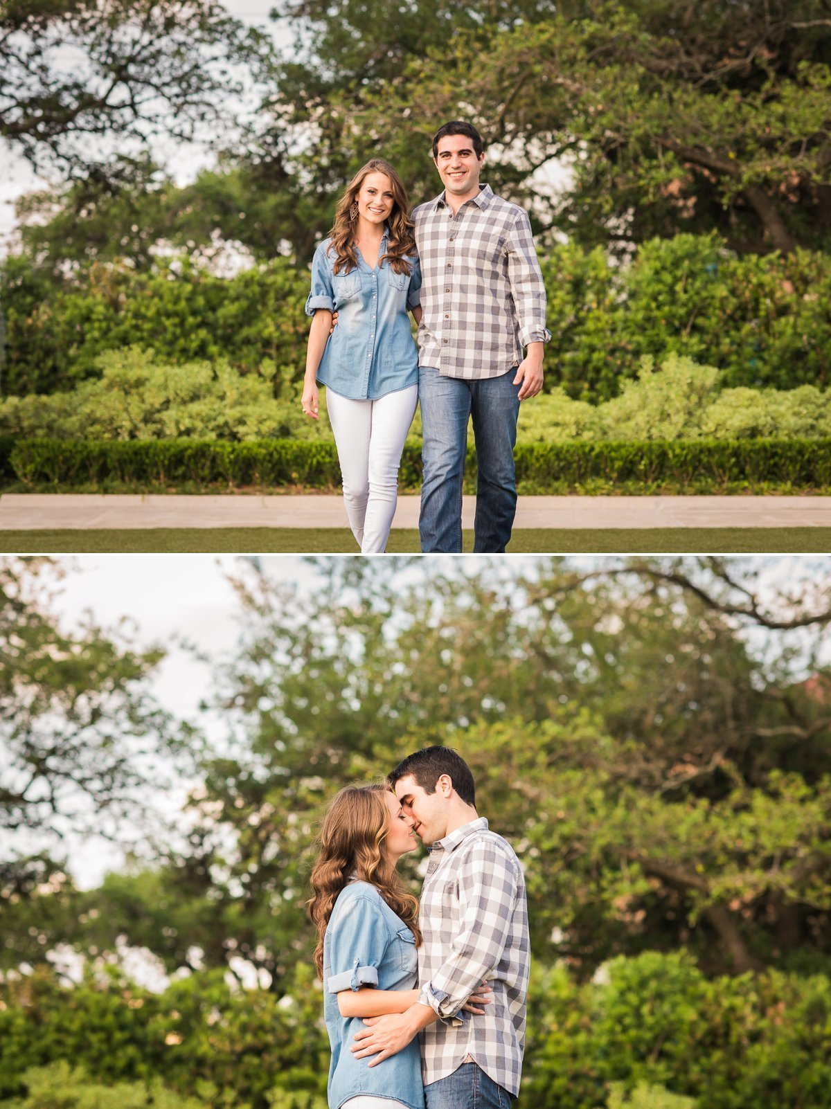 Ricky Sarah Engagement Hermann Park Houston 11
