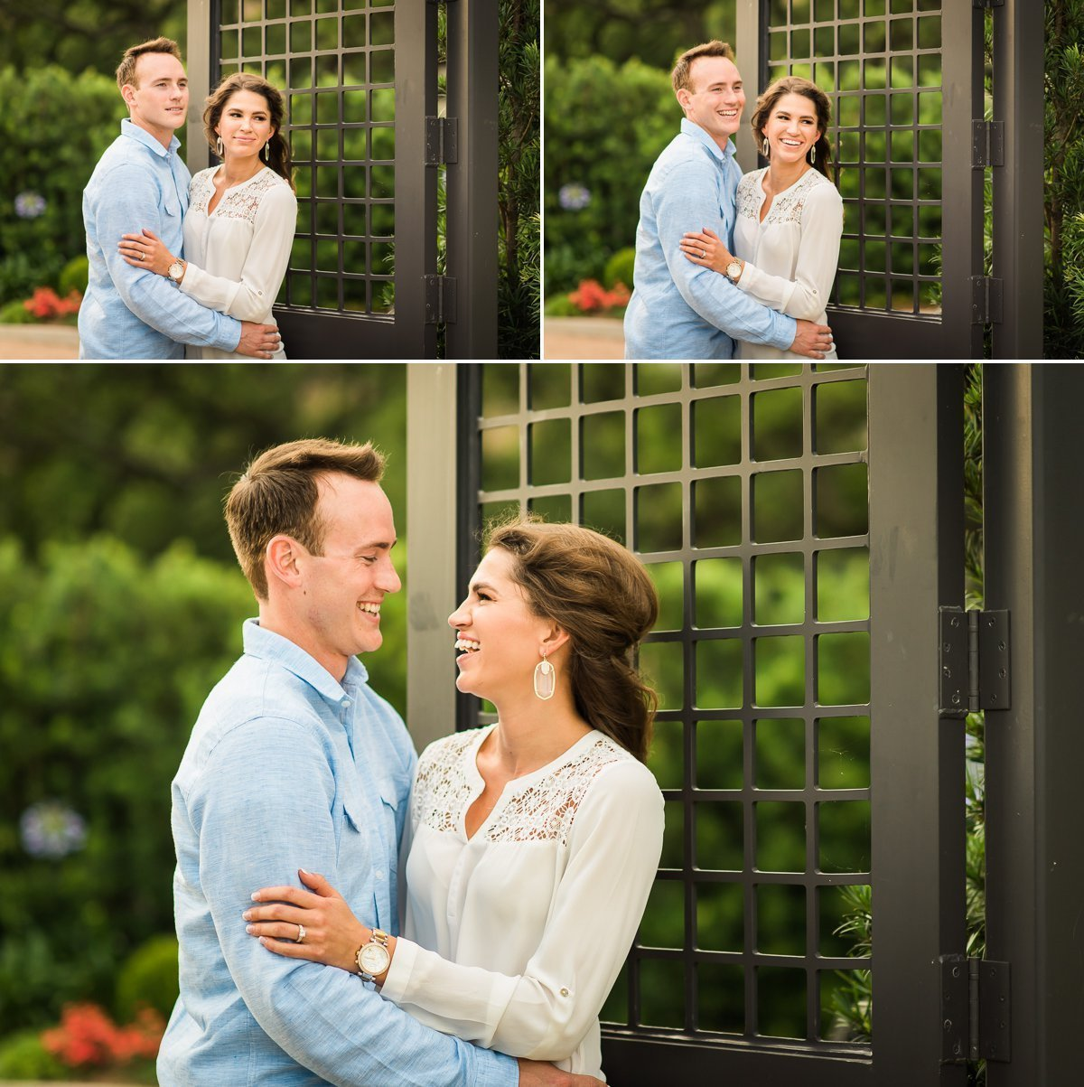 McGovern Centennial Garden Engagement Session
